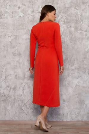 Сукня «Меммі» морквяного кольору