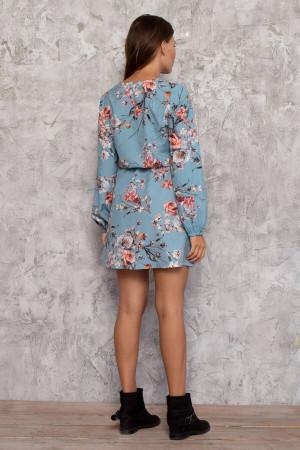 Сукня «Амоні» блакитного кольору