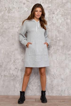 Сукня «Брайт» сірого кольору