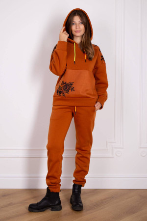 Спортивний костюм «Сарміте» теракотового кольору