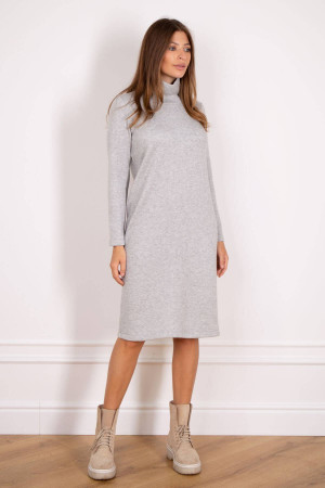 Платье «Надя» серого цвета