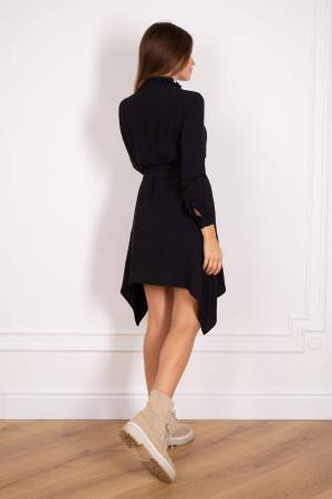 Сукня «Габрися» чорного кольору