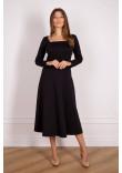 Сукня «Ліля» чорного кольору
