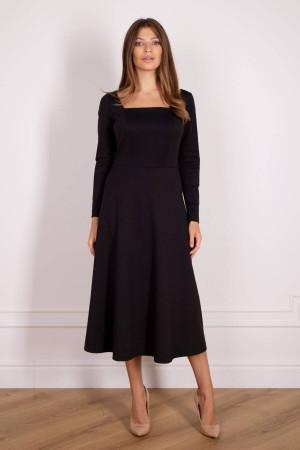 Платье «Лиля» черного цвета