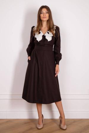 Сукня «Едера» коричневого кольору