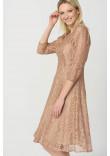 Сукня «Анета» бежевого кольору