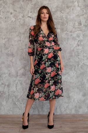 Платье «Цвитана» черного цвета