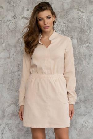 Платье «Эллин» бежевого цвета
