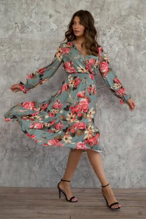 Сукня «Аделаїда» кольору полину