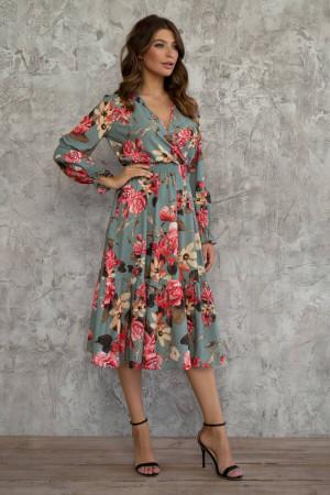 Платье «Аделаида» цвета полыни
