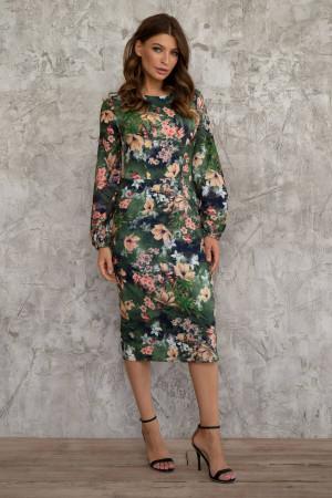 Платье «Лилианна» зеленого цвета