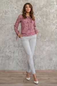 Блуза «Мира» розового цвета