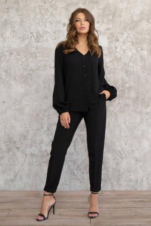 Блуза «Інга» чорного кольору