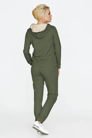 Спортивний костюм «Орнамент» зеленого кольору