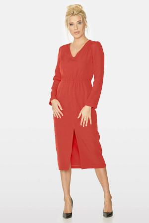 Сукня «Агафія» червоного кольору