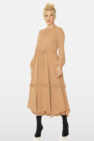 Сукня «Будана» бежевого кольору