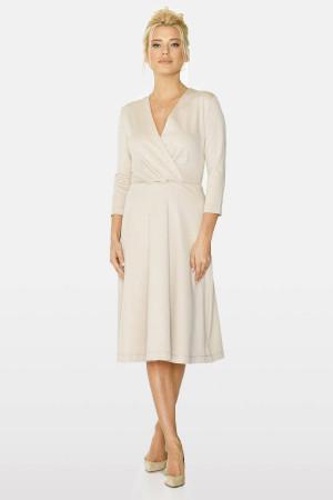 Сукня «Біляна» бежевого кольору