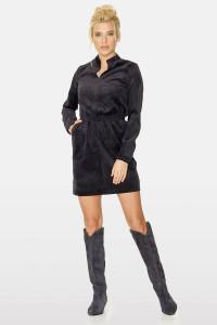 Платье «Эллин» черного цвета