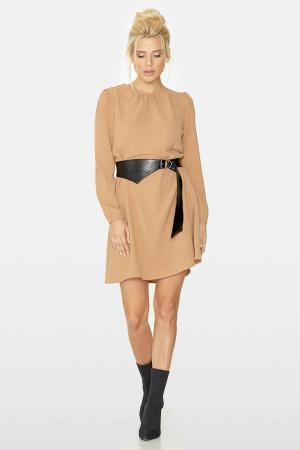 Сукня «Забава» бежевого кольору