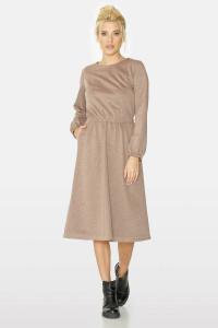 Платье «Эмили» бежевого цвета