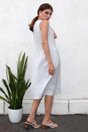 Сукня «Аксина» сірого кольору