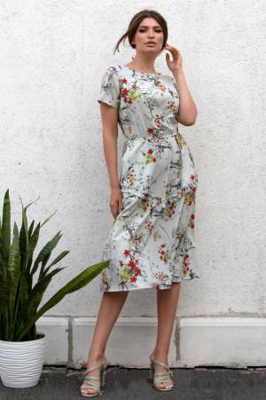 Сукня «Світана» сірого кольору