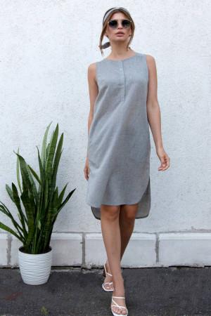 Сукня «Неля» сірого кольору