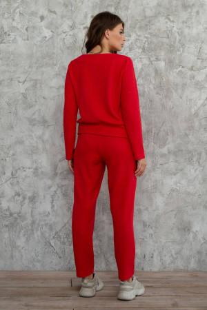 Спортивний костюм «Кларіса» червоного кольору