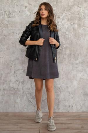 Сукня «Каріна» сірого кольору