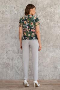 Блуза «Айседора» зеленого цвета