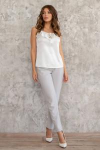 Блуза «Биломира» белого цвета