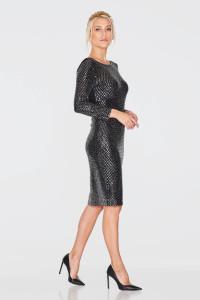 Платье «Огана» черного цвета