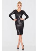 Платье «Эдра» черного цвета