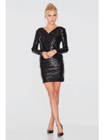 Сукня «Унга» чорного кольору