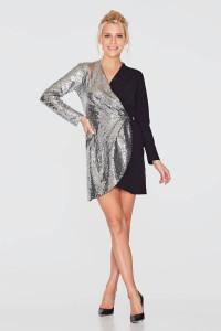 Платье «Фрита» черного цвета
