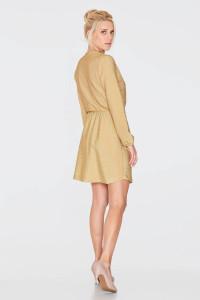 Платье «Мика» золотистого цвета