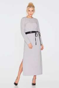 Платье «Лийне» серебристого цвета