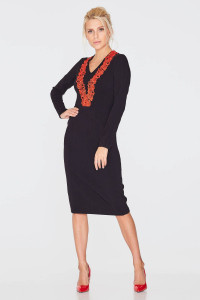 Сукня «Сіма» чорного кольору