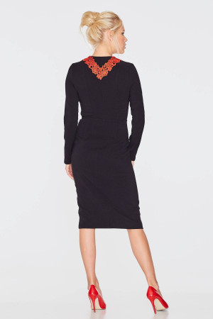Платье «Сима» черного цвета