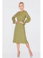 Платье «Сезария» фисташкового цвета