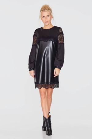 Сукня «Ерна» чорного кольору