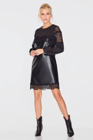Платье «Эрна» черного цвета