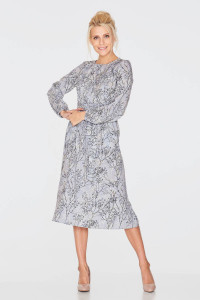 Сукня «Шарлотта» сірого кольору