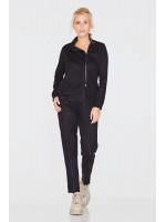 Спортивный костюм «Гарнет» черного цвета