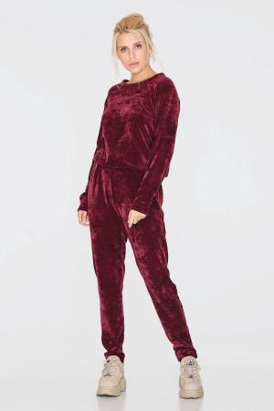 Спортивный костюм «Сармите» бордового цвета