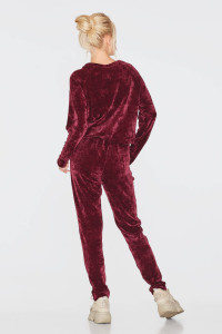 Спортивний костюм «Сарміте» бордового кольору