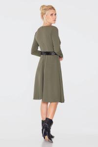 Сукня «Варга» кольору хакі
