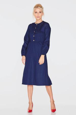 Платье «Дивейн» синего цвета