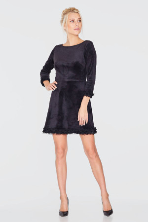 Сукня «Доффі» чорного кольору