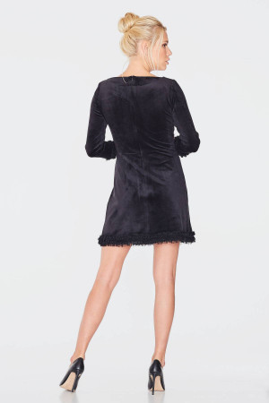 Платье «Доффи» черного цвета